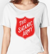 the satanic army Women's Relaxed Fit T-Shirt