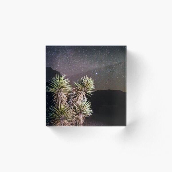 Desert Night Acrylic Block