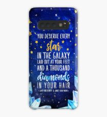 You deserve every star Case/Skin for Samsung Galaxy