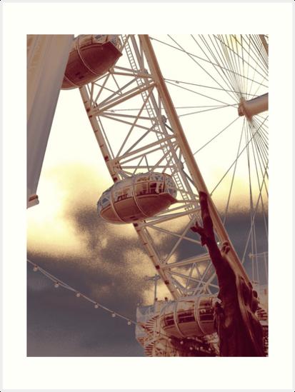 London Eye by Lee Kerr