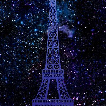 Romantisches Paris / Eiffelturm von MartaOlgaKlara