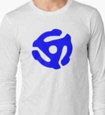 Blue 45 Vinyl Record Symbol T-Shirt