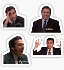 The Office Michael Sticker