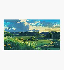 Totoro Landscape Photographic Print