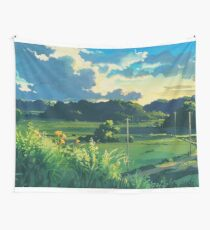 Totoro Landscape Wall Tapestry