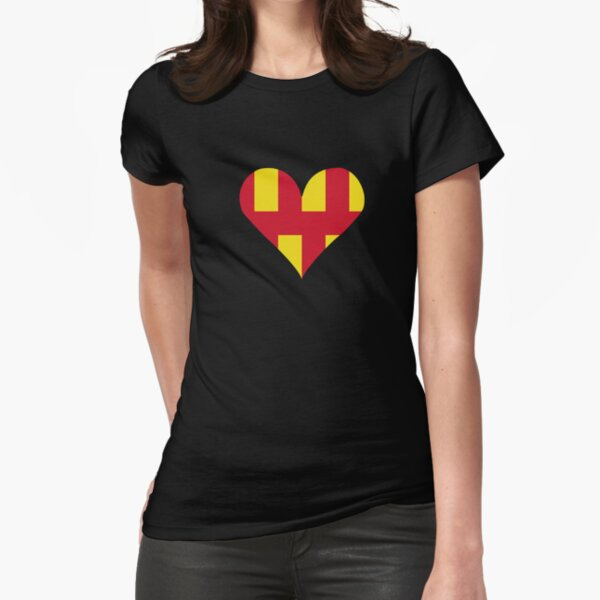 Northumberland Love Fitted T-Shirt