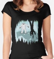 Wampa Cave Women's Fitted Scoop T-Shirt