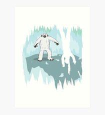 Wampa Cave Art Print