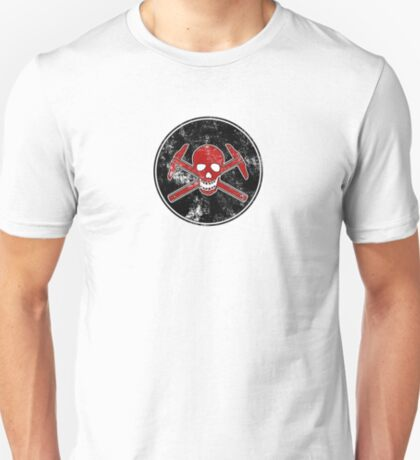 Architectural Jolly Rogers - Ink Stamp T-Shirt