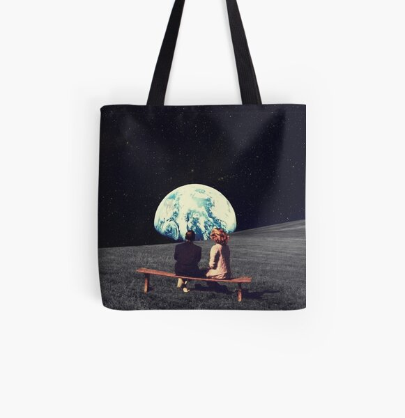 We Used To Live There All Over Print Tote Bag