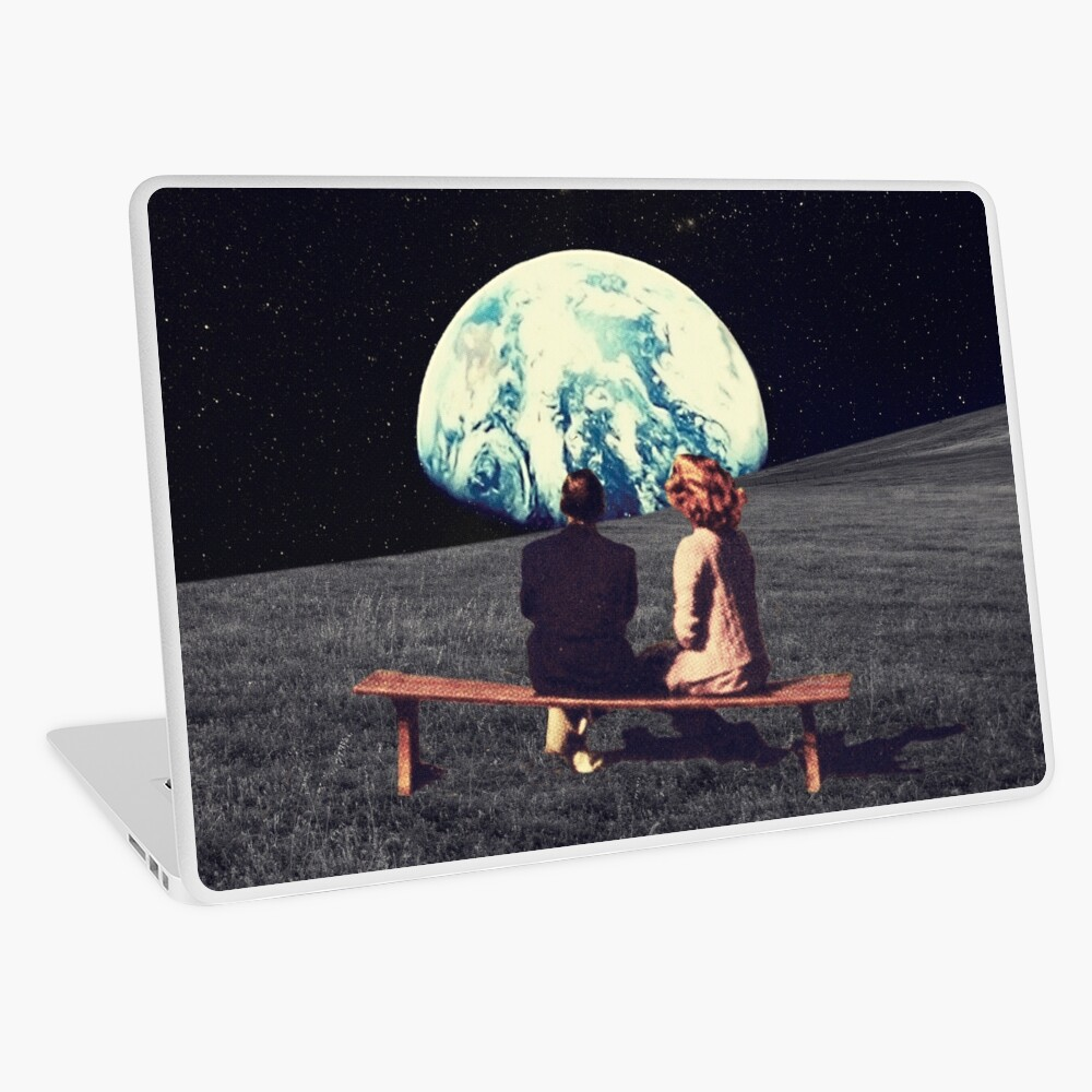 We Used To Live There Laptop Skin