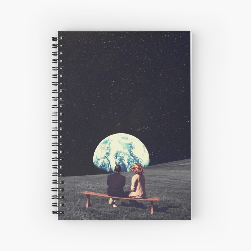We Used To Live There Spiral Notebook