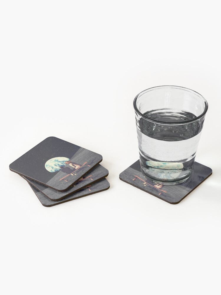 Alternate view of We Used To Live There Coasters (Set of 4)