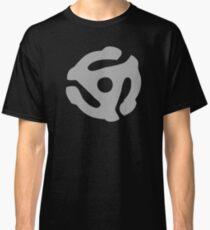 Gray 45 Vinyl Record Symbol Classic T-Shirt