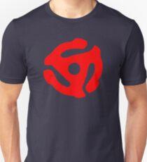 Red 45 Vinyl Record Symbol T-Shirt
