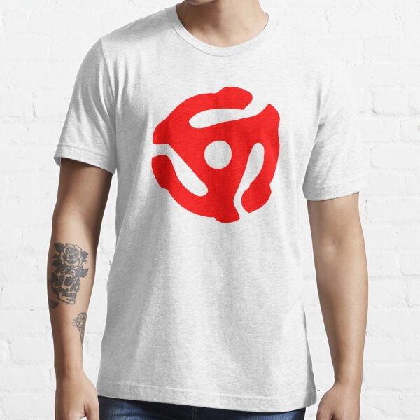 Red 45 Vinyl Record Symbol Essential T-Shirt