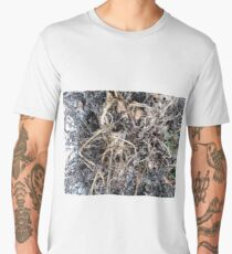 Grass, New York, Manhattan, Brooklyn, New York City, architecture, street, building, tree, car,   Men's Premium T-Shirt
