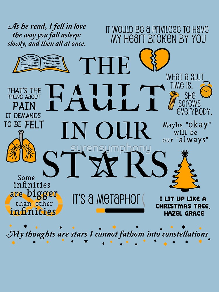 The Fault In Our Stars v.2 | Unisex T-Shirt