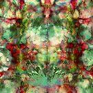 RedGreen DyeBlot by TigerTorreArt