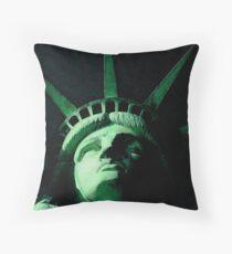I Lift My Lamp Throw Pillow