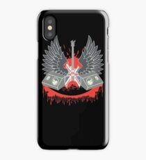 British Music Guitar Wings Collage iPhone Case/Skin