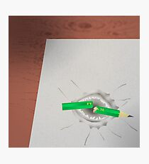 Shark Paper Tooth Photographic Print