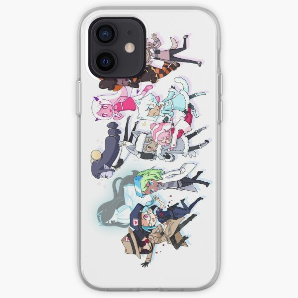 main characters! iPhone Soft Case