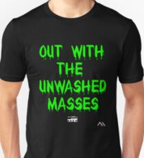 Unwashed Masses | Classic Design Unisex T-Shirt