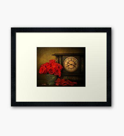 Enduring Roses Framed Print