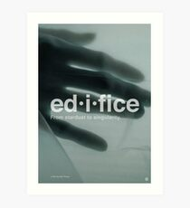 Edifice - Formation Art Print