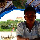 River Border Crossing - Laos to Thailand.  by Tiffany Lenoir