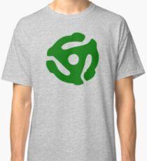Green 45 Vinyl Record Symbol Classic T-Shirt