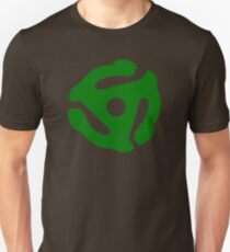 Green 45 Vinyl Record Symbol T-Shirt