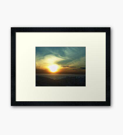 Fireball Framed Print