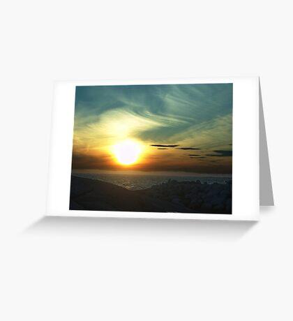 Fireball Greeting Card