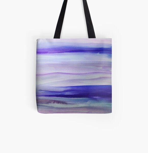 Purple Mountains' Majesty  All Over Print Tote Bag