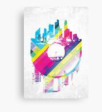 Urban Vinyl Canvas Print