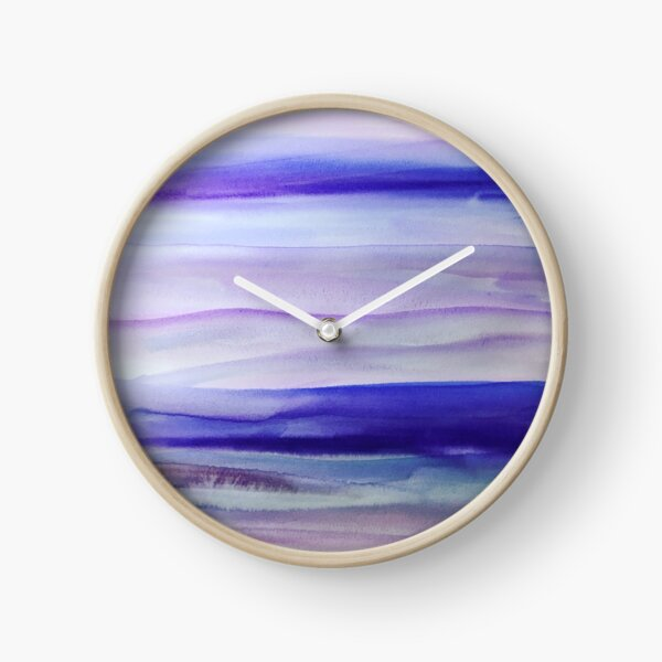 Purple Mountains' Majesty  Clock