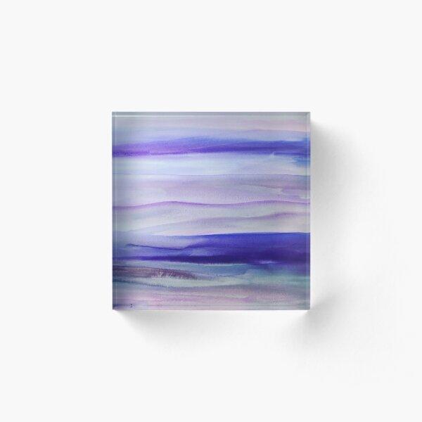 Purple Mountains' Majesty  Acrylic Block