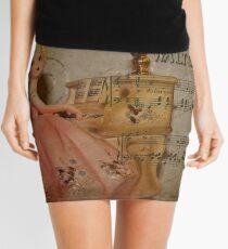 Music Girl Was Destined For Dumpster! Mini Skirt