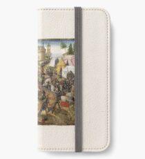 Medieval Battle Scene No. 2 iPhone Wallet/Case/Skin