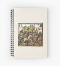 Medieval Battle Scene No. 2 Spiral Notebook