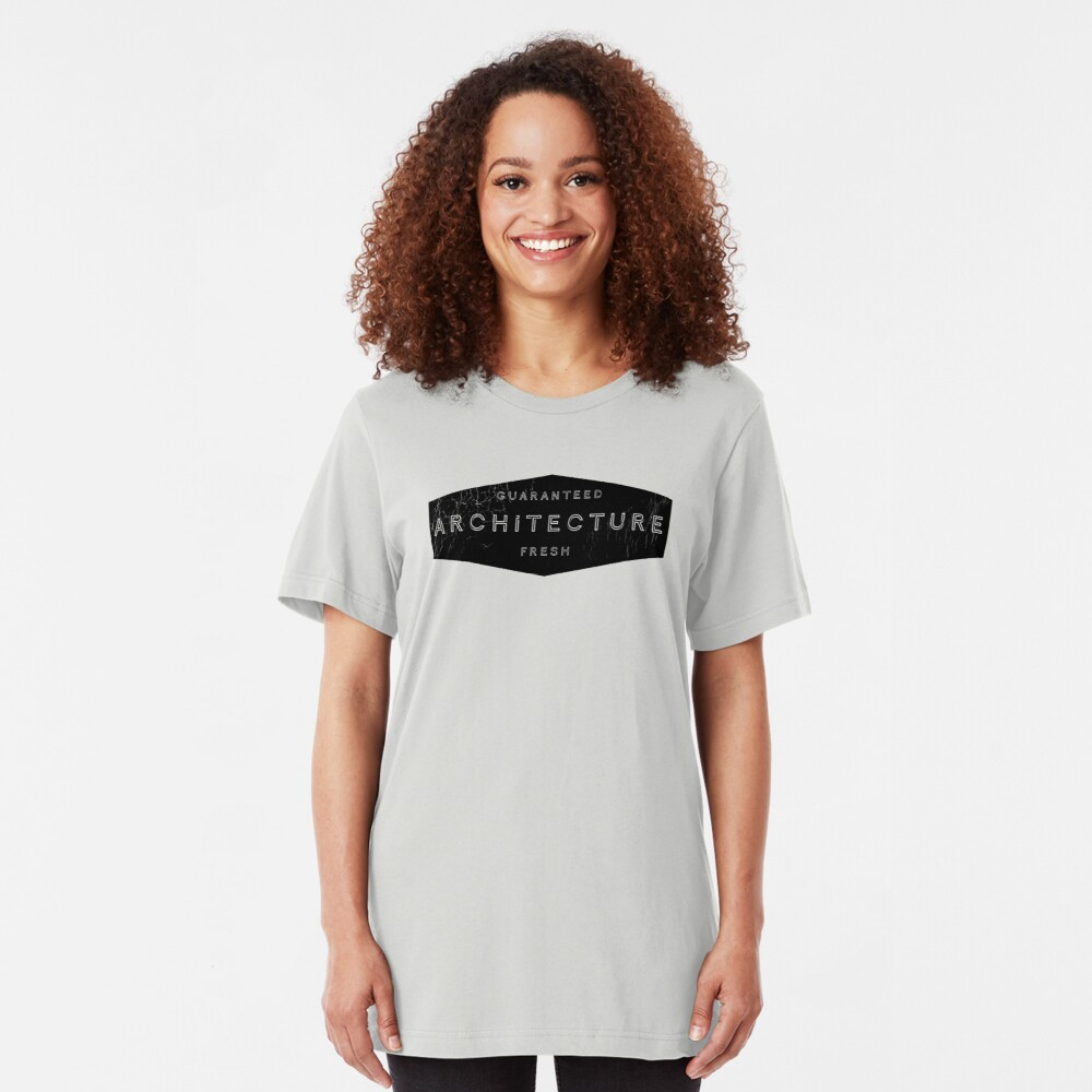 Architecture - Guaranteed Fresh! Slim Fit T-Shirt