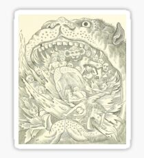 Hellmouth Devil Sticker