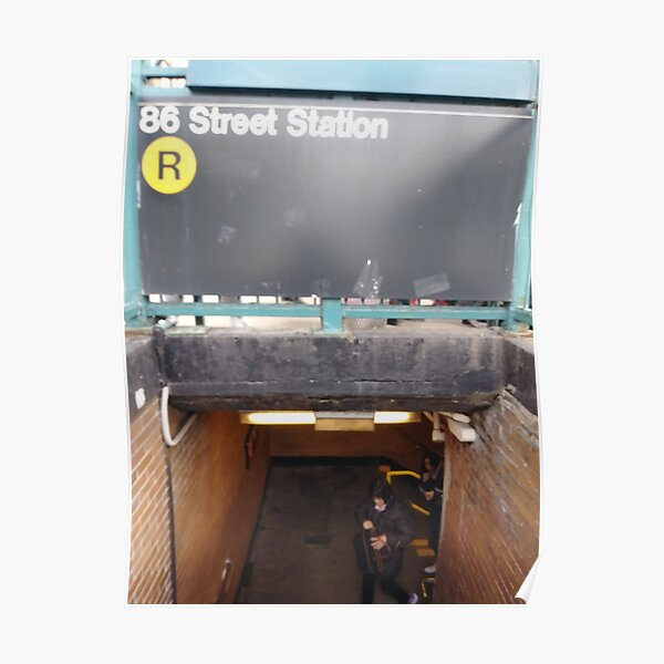 New York, Manhattan, Brooklyn, New York City, architecture, street, building, tree, car,   Poster