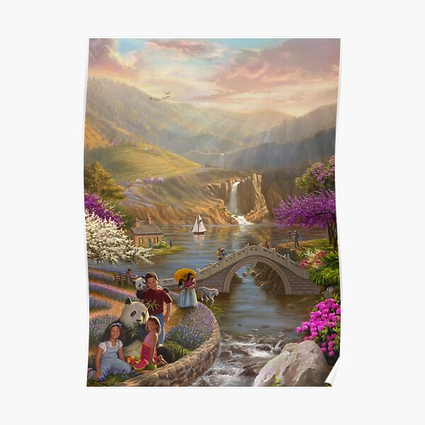 Paradise in a Valley Poster