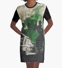 Resi 1 Chris Redfield Minimalist Art Graphic T-Shirt Dress