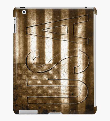 USA in Sepia iPad Case/Skin