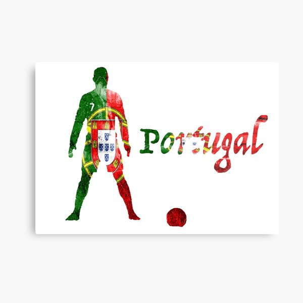 Cristiano Ronaldo- Portugal Metal Print