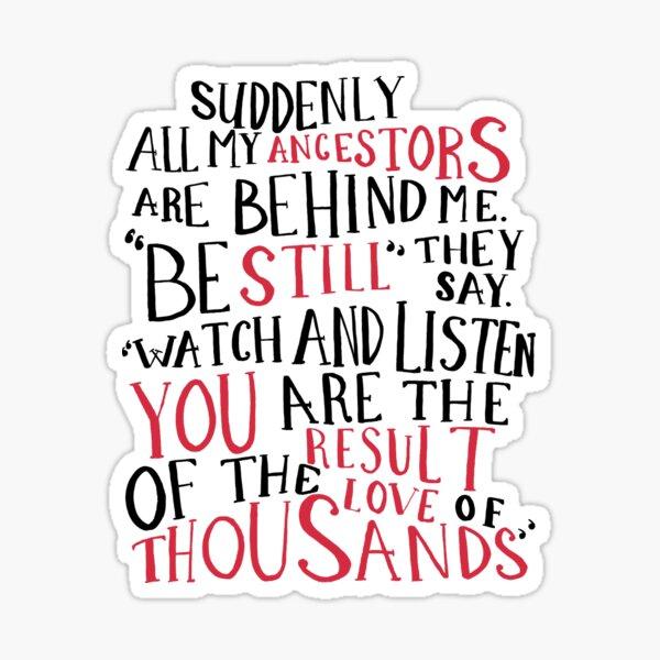 Watch and Listen Sticker
